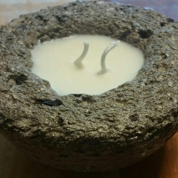 Hypertufa Candle