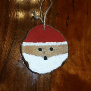 Santa Clause Christmas Ornament