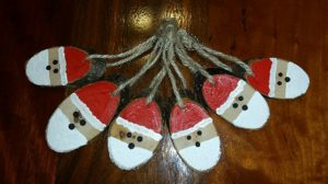 Hand Crafted Wood Christmas Ornaments
